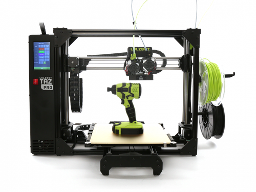 LulzBot TAZ 3D Printer, Pro Boxed for Retail, NA