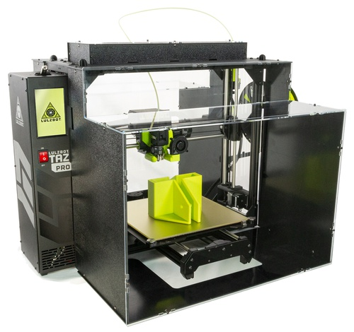 LulzBot TAZ Pro/TAZ Workhorse ABS+ Enclosure