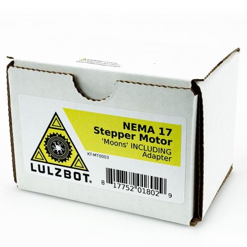 NEMA 17 Stepper Motor, Moons' - INCLUDING Adapter